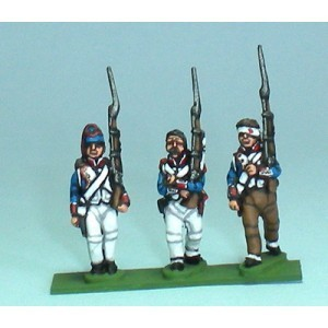 Fusiliers sin chacó (8 figuras)