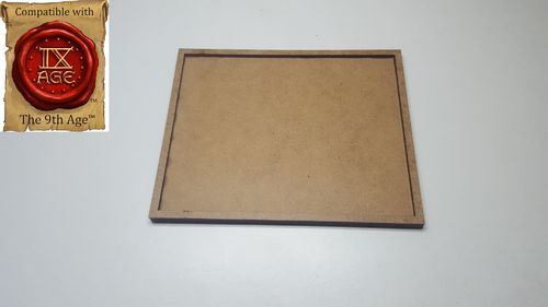 Tray of movement of 25 miniatures of 25x25mm