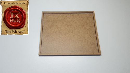 Movement tray of 56 miniatures of 20x20mm