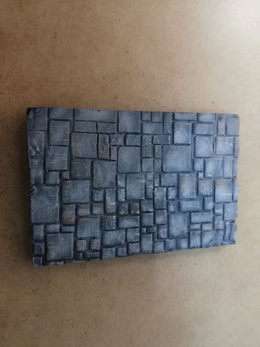 Resin base paving blocks of 50x75mm