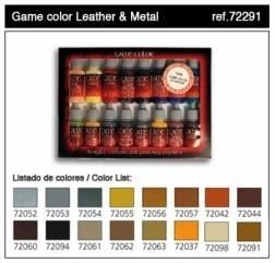 Estuche Game Color 16 colores Leather & Metal
