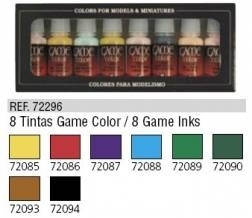 8 Tintas Game Color