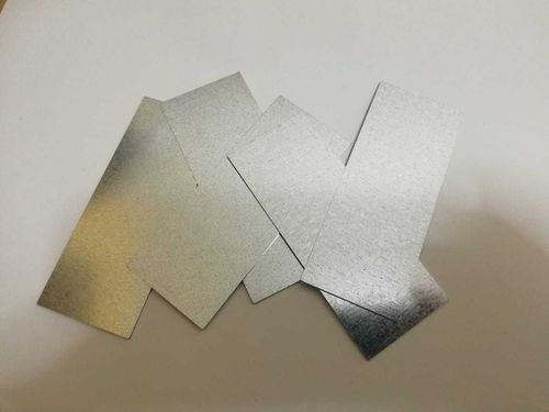 Metal base of 200x20mm and 10 neodimium magnets